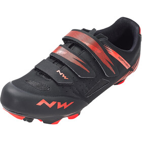 Northwave Origin kengät Miehet, black/red